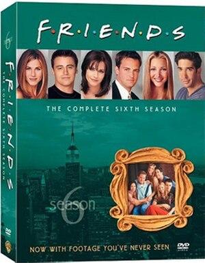 Friends (season 6) - Image: Friends Season 6 DVD