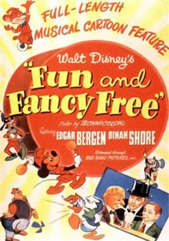 Fun and Fancy Free - Original theatrical release poster