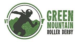Green Mountain Roller Derby - Image: GMRD Logo