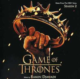 Game of Thrones: Season 2 (soundtrack) - Image: Game of Thrones (season 2 soundtrack) cover