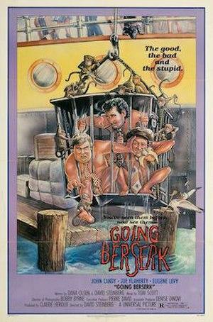Going Berserk - Theatrical release poster