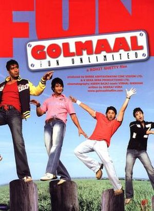 Golmaal: Fun Unlimited - Theatrical release poster