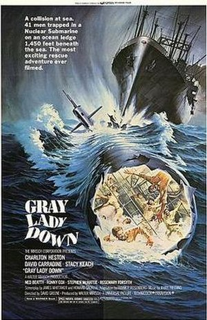 Gray Lady Down - Promotional poster for Gray Lady Down