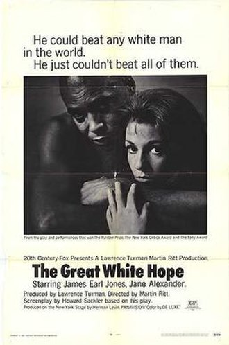 The Great White Hope (film) - Theatrical release poster