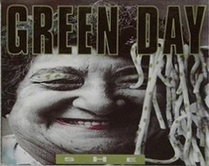 She (Green Day song) - Image: Green Day She cover