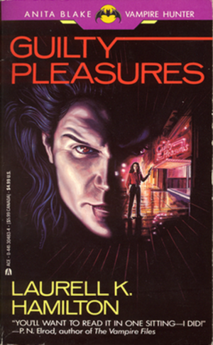 Anita Blake: Vampire Hunter - Cover of Guilty Pleasures, Ace edition