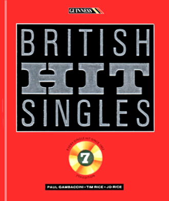British Hit Singles & Albums - The cover of the 1989 7th edition of the Guinness Book of British Hit Singles
