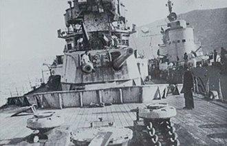 Raid on Souda Bay - Image: HMS York RM Sirio