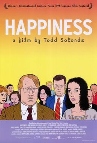 Happiness (1998 film) - Theatrical release poster by Daniel Clowes