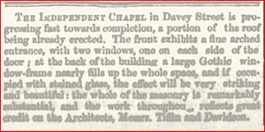 Charles Tiffin - Hobart Mercury, 10 Jan 1857