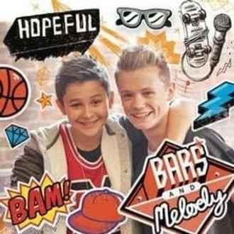 Hopeful (Bars and Melody song) - Image: Hopeful Bars and Melody