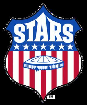 Houston Stars - Image: Houston Stars badge
