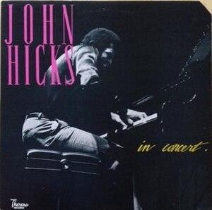 In Concert (John Hicks album) - Image: In Concert (John Hicks album)