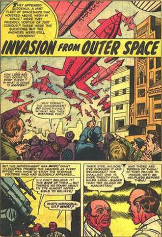 Christopher Rule - Image: Invasion Outer Space from Tales Of Suspense 2