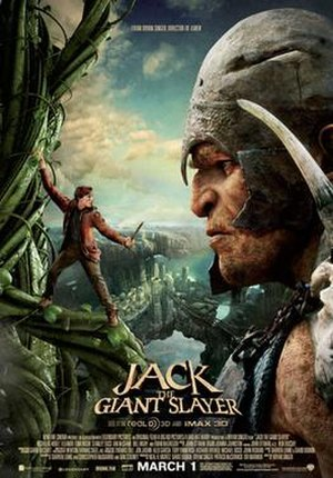 Jack the Giant Slayer - Theatrical release poster