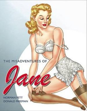 Jane (comic strip) - Image: Janepett