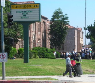 Hancock Park, Los Angeles - John Burroughs Middle School