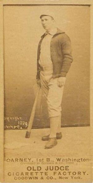 Jack Carney (baseball) - Image: John Carney baseball