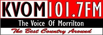 KVOM-FM - Image: KVOM FM station logo