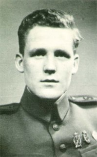Kasper Idland Norwegian resistance member