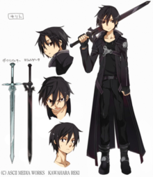 Kirito (Sword Art Online) - Wikipedia