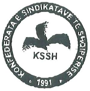 Confederation of Trade Unions (Albania) - Image: Ksshlogo