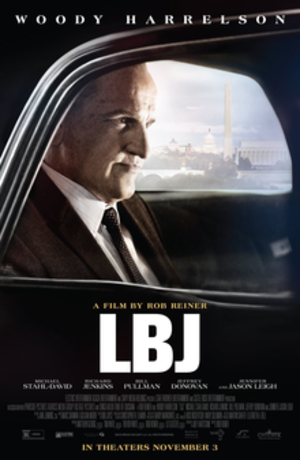 LBJ (film) - Theatrical release poster