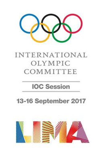 131st IOC Session - The official banner of the 131st IOC Session.