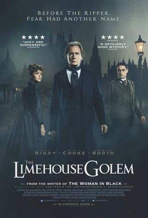 The Limehouse Golem - Theatrical release poster
