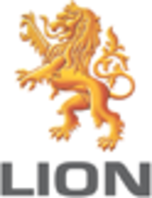 Lion Dairy & Drinks - Image: Lion logo