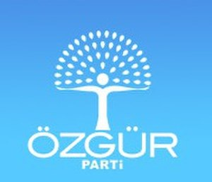Freedom and Reform Party - Image: Logo ozgurparti