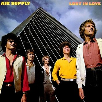 Lost in Love (Air Supply album) - Image: Lost in love album cover