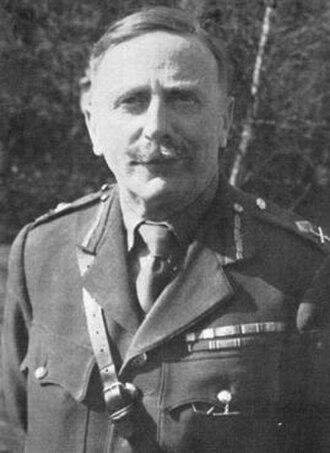 Merton Beckwith-Smith - Image: Maj Gen Beckwith Smith