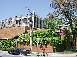 Massey College, Toronto - Exterior of the college