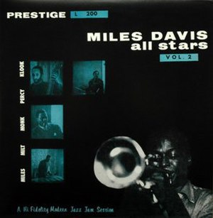 Miles Davis All Stars, Volume 2 - Image: Miles All Stars Vol 2