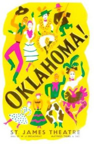 Oklahoma! - Original Broadway poster (1943)