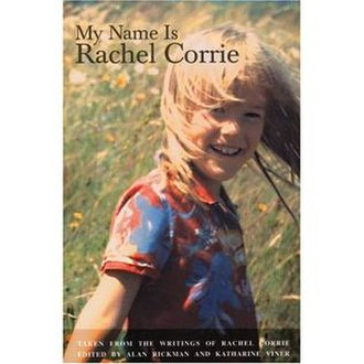 My Name Is Rachel Corrie - Cover of book version of play.
