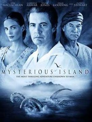 Mysterious Island (2005 film) - DVD cover for Mysterious Island