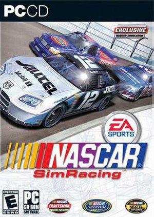 NASCAR SimRacing - Image: NASCAR Sim Racing cover