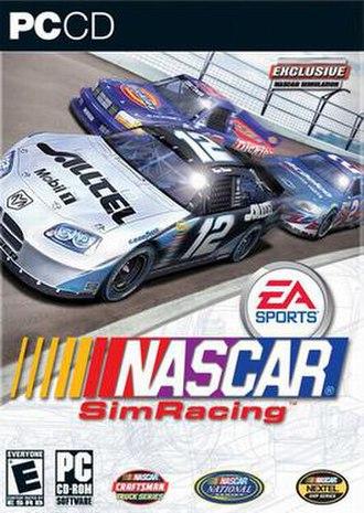 NASCAR SimRacing - Image: NASCAR Sim Racing cover
