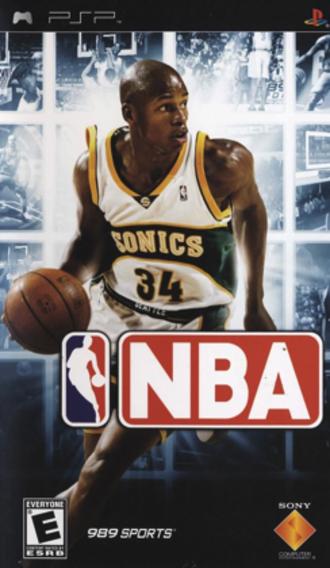 NBA (video game) - North American cover art