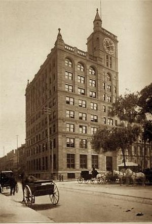 New York Life Insurance Building (Montreal) - New York Life Insurance Building in the late Nineteenth or early Twentieth Century.