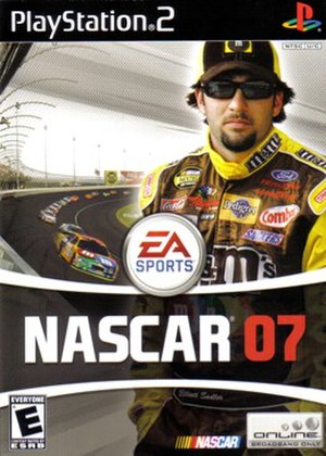 NASCAR 07 - Image: Nascar 07ps 2scan
