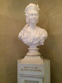 Bust located at the Nemours Mansion.