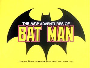 The New Adventures of Batman - Image: New Adventures of Batman logo
