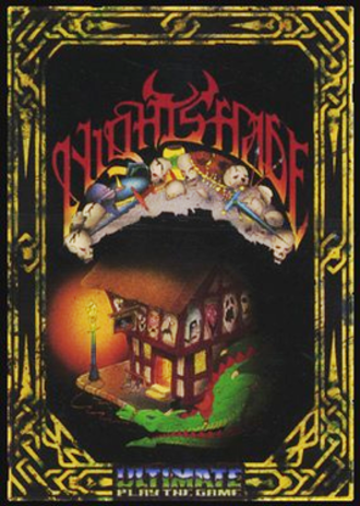 Nightshade (1985 video game) - ZX Spectrum cover art
