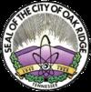 Oficiální pečeť Oak Ridge, Tennessee