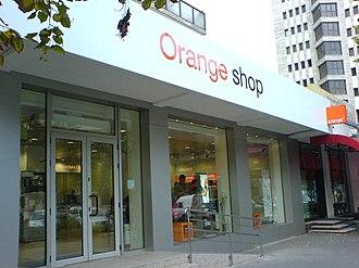 Orange Romania - An Orange Shop in Iaşi- a retail shop for Orange services and mobile phones.