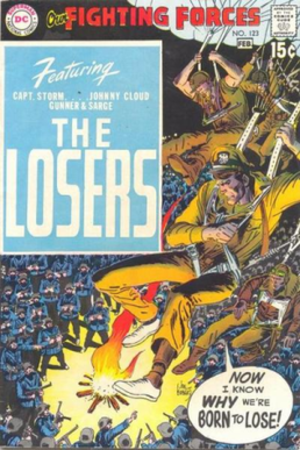 The Losers (comics) - Image: Our Fighting Forces 123