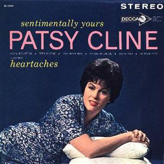 Sentimentally Yours - Image: Patsy Cline Sentimentally Yours 2